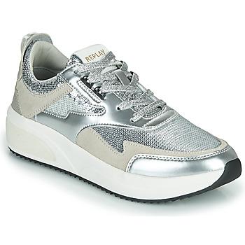 Cipők Női Rövid szárú edzőcipők Replay FLOW CREATION Ezüst