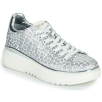 Cipők Női Rövid szárú edzőcipők Replay ULTRA NACHT Fehér / Szürke