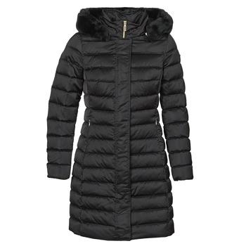Ruhák Női Steppelt kabátok Geox BETTANIE Fekete