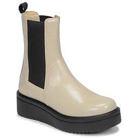Cipők Női Csizmák Vagabond TARA Bézs