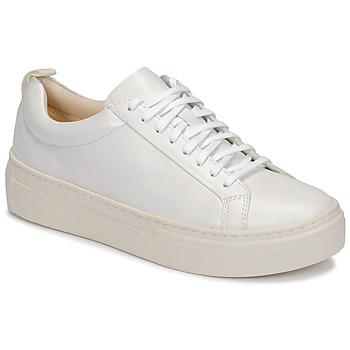 Cipők Női Rövid szárú edzőcipők Vagabond ZOE PLATFORM Fehér