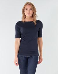 Ruhák Női Hosszú ujjú pólók Lauren Ralph Lauren JUDY Tengerész