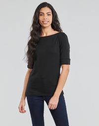 Ruhák Női Hosszú ujjú pólók Lauren Ralph Lauren JUDY Fekete
