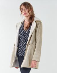 Ruhák Női Kabátok Lauren Ralph Lauren RVRSBL FXSH-COAT Teve