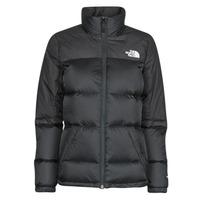 Ruhák Női Steppelt kabátok The North Face W DIABLO DOWN JACKET Fekete