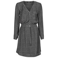 Ruhák Női Rövid ruhák Le Temps des Cerises RABA Szürke / Fekete