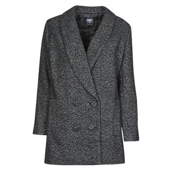 Ruhák Női Kabátok Le Temps des Cerises DILAN1 Fekete