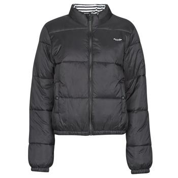 Ruhák Női Steppelt kabátok Volcom PUFFS N STUF REV JKT Fekete