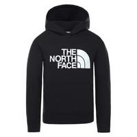 Ruhák Gyerek Pulóverek The North Face DREW PEAK HOODIE Fekete