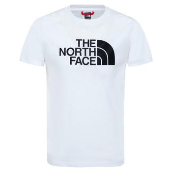 Ruhák Fiú Rövid ujjú pólók The North Face EASY TEE Fehér