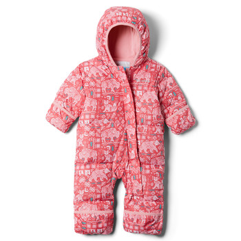 Ruhák Lány Steppelt kabátok Columbia SNUGGLY BUNNY Rózsaszín