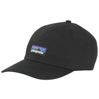 Textil kiegészítők Férfi Baseball sapkák Patagonia P-6 LABEL TRAD CAP Fekete