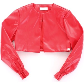 Ruhák Lány Bőrkabátok / műbőr kabátok Byblos Blu BJ14994 Rosso