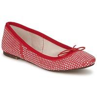 Cipők Női Balerina cipők / babák Meline BALDE ROCK Piros