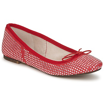 Cipők Női Balerina cipők  Meline BALDE ROCK Piros