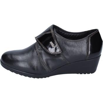 Cipők Női Mokkaszínek Adriana Del Nista sneakers pelle Nero