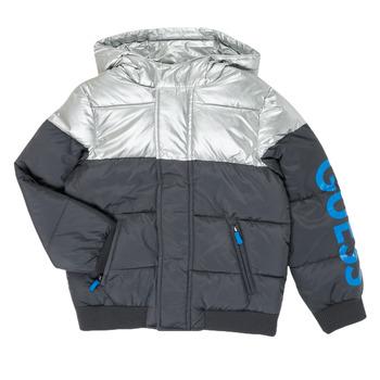 Ruhák Fiú Steppelt kabátok Guess N0YL00-W7S10-PHTM Szürke