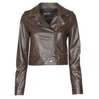 Ruhák Női Bőrkabátok / műbőr kabátok Oakwood YOKO Barna