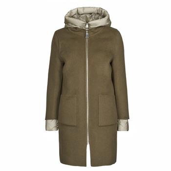 Ruhák Női Kabátok Oakwood LILIANA BI Keki / Bézs / Tópszínű