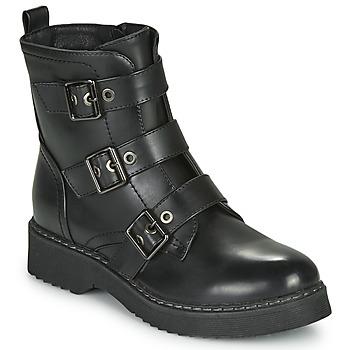 Cipők Női Csizmák Spot on F51069 Fekete