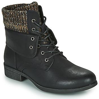 Cipők Női Csizmák Spot on F50613 Fekete