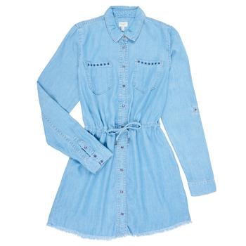 Ruhák Lány Rövid ruhák Pepe jeans ZOEY Kék