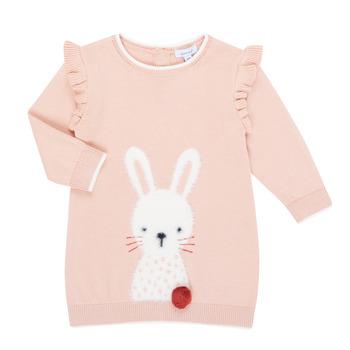 Ruhák Lány Rövid ruhák Absorba 9R30092-312-B Rózsaszín