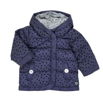 Ruhák Lány Steppelt kabátok Absorba 9R42022-04-B Tengerész