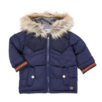 Ruhák Fiú Parka kabátok Absorba 9R42062-04-B Tengerész