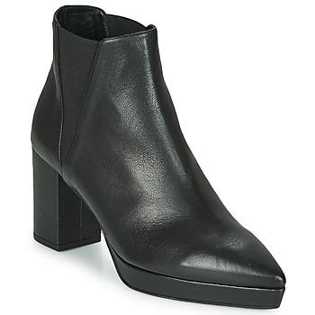Cipők Női Bokacsizmák Castaner OSKA Fekete