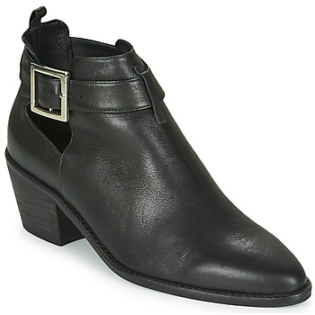 Cipők Női Bokacsizmák Castaner GIGI Fekete