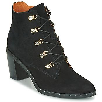 Cipők Női Bokacsizmák Mam'Zelle NECLA Fekete