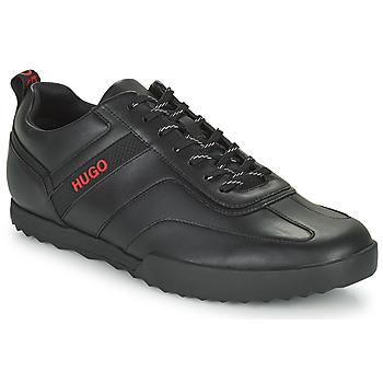 Cipők Férfi Rövid szárú edzőcipők HUGO MATRIX LOWP NA Fekete