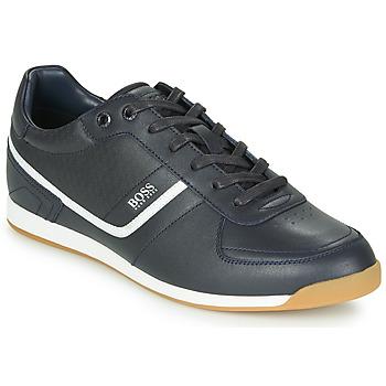 Cipők Férfi Rövid szárú edzőcipők BOSS GLAZE LOWP NAHB Tengerész