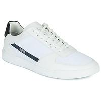 Cipők Férfi Rövid szárú edzőcipők BOSS COSMOPOOL TENN MXME Fehér