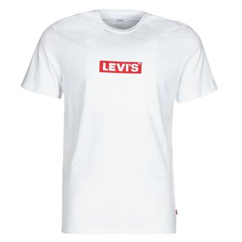 Ruhák Férfi Rövid ujjú pólók Levi's BOXTAB GRAPHIC TEE Fehér
