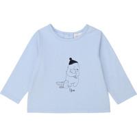 Ruhák Fiú Hosszú ujjú pólók Carrément Beau Y95249 Kék