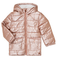 Ruhák Lány Steppelt kabátok Carrément Beau Y16085 Rózsaszín