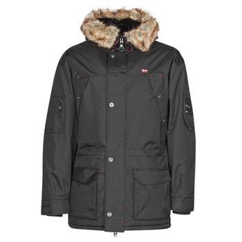 Ruhák Férfi Parka kabátok Geographical Norway ABIOSAURE Fekete