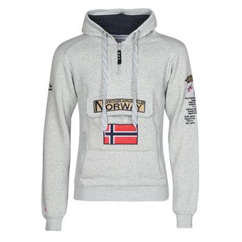 Ruhák Férfi Pulóverek Geographical Norway GYMCLASS Szürke / Mix