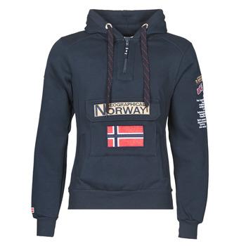 Ruhák Férfi Pulóverek Geographical Norway GYMCLASS Tengerész