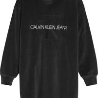 Ruhák Lány Rövid ruhák Calvin Klein Jeans IG0IG00711-BEH Fekete