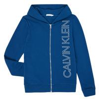 Ruhák Fiú Pulóverek Calvin Klein Jeans IB0IB00668-C5G Kék