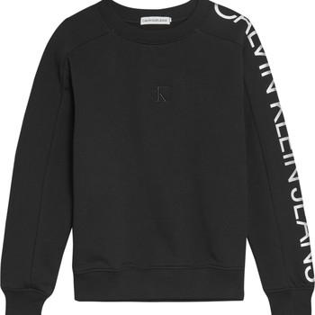 Ruhák Lány Pulóverek Calvin Klein Jeans IG0IG00691-BEH Fekete