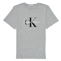 Ruhák Gyerek Rövid ujjú pólók Calvin Klein Jeans MONOGRAM Szürke