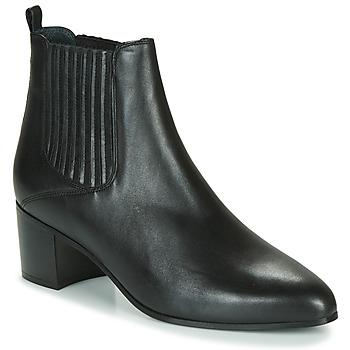 Cipők Női Bokacsizmák Jonak DEBINA Fekete