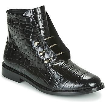 Cipők Női Csizmák Jonak DHAVLEN Fekete