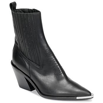 Cipők Női Bokacsizmák Jonak BINGO Fekete