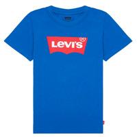 Ruhák Fiú Rövid ujjú pólók Levi's BATWING TEE Kék
