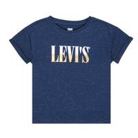 Ruhák Lány Rövid ujjú pólók Levi's DROP SHOULDER TEE Kék